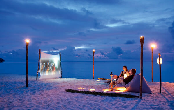 Outdoor Hotel Cinema Club